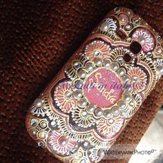 Henna pattern mobile cover by me