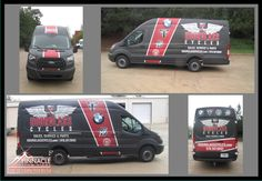 Hourglass Cycles, a new local business, now has their first wrapped vehicle! It has a matte finish with some gloss finishes a well! #wraps #vehiclewraps #matte #gloss