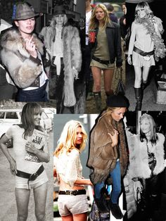 Anita's style influence on Kate Moss