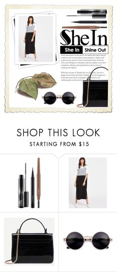 """""""She In Shine out (Sheln Contest)"""" by francesca-kubala ❤ liked on Polyvore featuring MAC Cosmetics and GALA"""
