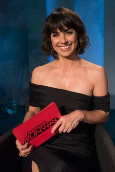 Constance Zimmer from UnReal was a guest judge on Project Runway this week!