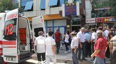 Elazığ'da, bir otelde meydana gelen patlamada ilk belirlemelere göre 3 kişi yaralandı.