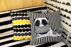 childs room sewed pillowcase