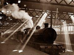 Euston Station, London. April, 1928