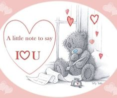 Tatty teddy - a little note to say. Thank you my sweet PTHBS. Teddy Bear Quotes, Teddy Bear Images, Teddy Bear Pictures, Hugs And Kisses Quotes, Hug Quotes, Kissing Quotes, Tatty Teddy, I Love You Images, Blue Nose Friends