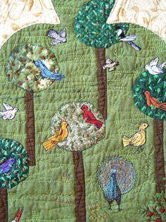Medieval Birds - detail