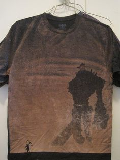 shadow of the colossus bleached shirt