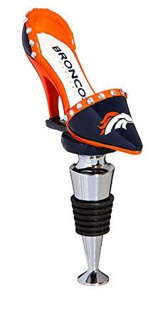 Denver Broncos High Heel Shoe Wine Bottle Stopper -- You can get more details by clicking on the image.