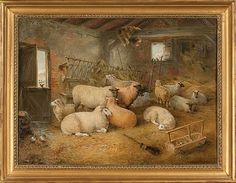 Winter Shelter by Edwin Frederick Holt