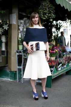 Anya Ziuorova Milán Fashion Week Primavera 2014 #MFW #MilanFashionWeek #anyaZiurova