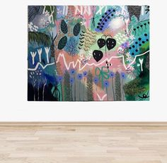 Buy ' WEEKEND TRAVELS ' Original Artwork - The Interiors Assembly Colorful Plants, Plant Art, Australian Artists, Weekend Trips, Box Frames, Acrylic Art, Art Inspo, Blond, Original Artwork