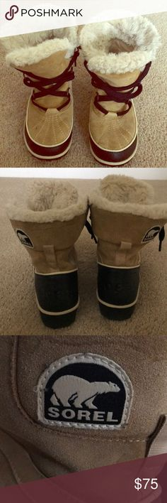Sorel Boots Women's Sorel Tivoli snow boots- only worn a handful of times. Excellent condition. Sorel Shoes Winter & Rain Boots