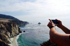 Smartphone Foto im Urlaub