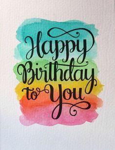 Best Birthday Quotes : Happy birthday - Grace Home Happy Birthday Printable, Happy Birthday Art, Happy Birthday Wallpaper, Best Birthday Quotes, Happy Birthday Messages, Happy Birthday Images, Creative Birthday Gifts, Happy Birthday Greetings, Handmade Birthday Cards