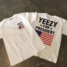 Yeezy for president kanye west tee ML by SecondKillaz on Etsy