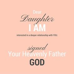 A Letter to God's Daughters | Jesus Desires a Deeper Relationship with You