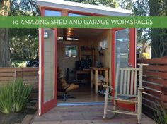 Eye Candy: 10 Inspiring Workspaces In Sheds And Garages » Curbly   DIY Design Community