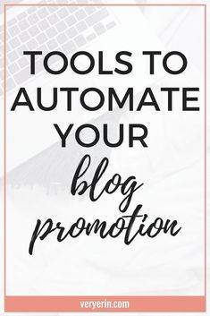 Being able to automate my blog promotion has been absolutely essential in growing my blog traffic as much as I have. Blogging can take so much time, and I could honestly fill every minute of free time promoting those posts. At some point, it just got to b