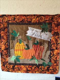 Fall wall hanging march 2017