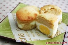 Egg Bbang | Aeri's Kitchen | Cooking Korean Recipes & Food. The batter alone is SO good! No need to pipe it, though - just use a spoon. Also, if you don't buy small eggs, make sure to drain off some of the egg white so your muffins don't overflow.