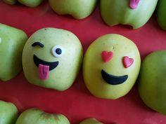 Traktatie emoji / gezond / appel / treat / basisschool