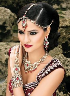 Present Yourself In Elegance With Graceful Indian Jewellery | South Asian Life - bracelet with ring is awesome.