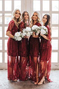 Maroon Wedding, Autumn Wedding, Christmas Wedding, Boho Wedding, Wedding Gowns, Flowy Dresses, Short Dresses, Wedding Dreams, Dream Wedding