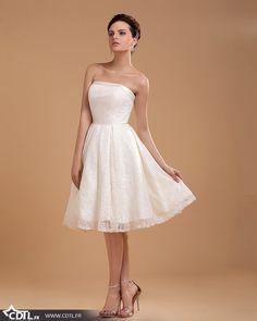 Robes de mariées courtes simples