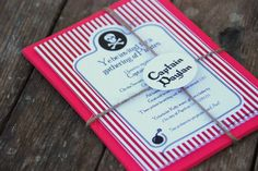 Captain Hook Pirate Party! - Pirate Party Decorations & Ideas |