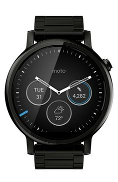 Motorola 'Moto 360 2nd Gen' Bracelet SmartWatch, 46mm available at #Nordstrom