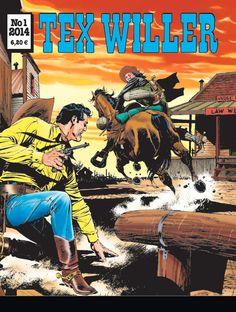 Tex Willer -lehti no 1/2014. #egmont #sarjakuva #sarjakuvalehti #sarjis
