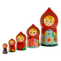 Karina Russian Nesting Dolls