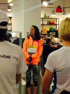 Great to meet inspirational woman & athlete @jopavey today @RunningWorks @RunfastLtd