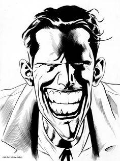 The Joker by Kevin Nowlan