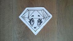 een diamant met wimpertjes echt leuk