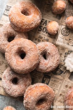 These Pumpkin Spice Sugared Donuts are soft on the inside, golden brown and crunchy on the outside, and have a sugary pumpkin spice coating.
