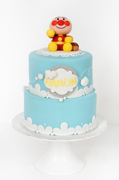 Anpanman. Cake.