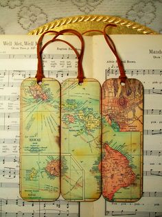 1 set ready to ship today map coasters africa historical wooden hawaii map bookmarks circa 1912 old map bookmark set of 3 gifts for men bookmarks for men gifts for guys gumiabroncs Images