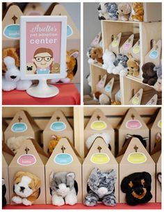 Bow, Wow, Meow Puppy and Kitten Paw-ty on Kara's Party Ideas | KarasPartyIdeas.com (23) Birthday Party Favors, Puppy Birthday Parties, Puppy Party, Dog Birthday, 1st Birthday Girls, Home Birthday Party Ideas, Birthday Kitten, Summer Party Favors, Birthday Pancakes