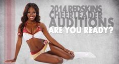 The 2014 Washington Redskins Cheerleaders Prep Classes begin tomorrow! Are you ready? As their Official Sponsors, we'll help you stand out with our airbrush makeup, waxing, and eyelash extensions!  #lashmoi