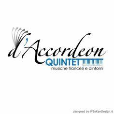 #Logo design - d'Accordeon Quintett - Jazz Orchestra
