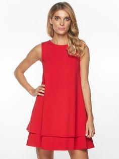 Sukienka Isly w kolorze czerwonym