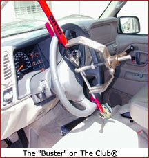 The Buster: Automotive Steering Wheel Lock Remover