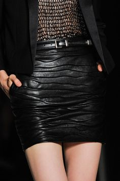 Saint Laurent at Paris Spring 2014 (Details)