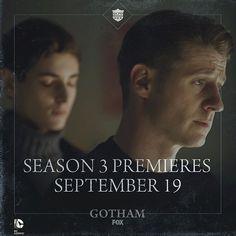#Gotham rises on Monday, September 19 on @foxtv once again.gothamonfox