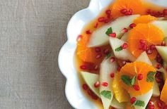 Melin and Tangerine Fruit Salad