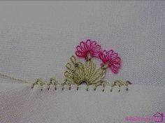 En Yeni 59 İğne Oyası Modelleri Basic Embroidery Stitches, Hand Work Embroidery, Embroidery Needles, Needle Tatting, Needle Lace, Lace Making, Flower Making, Crochet Unique, Hand Work Design