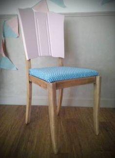 Chaise vintage 50's relookée