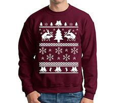 Humping Reindeer Ugly Christmas Sweater - http://www.christmasshack.com/ugly-christmas-sweaters/humping-reindeer-ugly-christmas-sweater/
