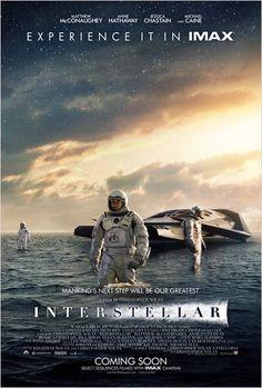 Interstellar le dernier chef d'oeuvre de Christopher Nolan un film magistral porter par un Matthew Mc Conaughey tout simplement grandiose.